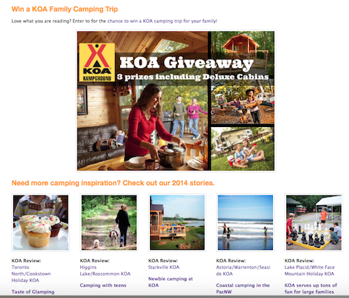 KOA Blog Tour